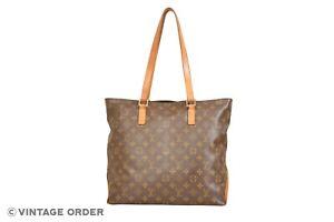 Louis Vuitton Monogram Cabas Mezzo Shoulder Bag M51151 - YH00245
