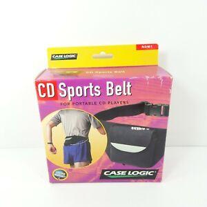 Case Logic NDM1 Portable CD Player Waist Belt Fanny Pack Carrying Travel Case