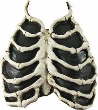 Skeleton Bone Chest Piece Zombie Corpse Prop Adult Halloween Costume Accessory