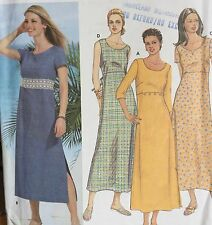 NEW 2002 'SIMPLICITY'  PULLOVER A LINE DRESS PATTERN 7207 6 -12