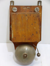 sonnette telephone ancien vintage Milde antique french wood box bell 1900 ringer
