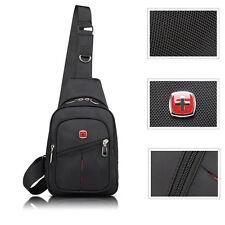 SwissGear Travel Sports Running Shoulder Cross Body Messenger Sling Chest Bag