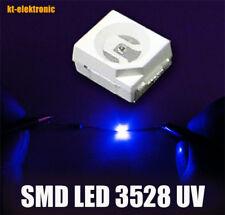 MCD 120 100 unidades LED SMD 1206 UV 390nm 3,3 V travioleta luz negra