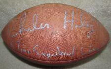NFL Charles Haley Signed Autographed Football 5 Time Superbowl Champ Inscribed