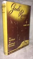 """RARE 1954 """"God's Reach"""" Glenn Clark"""" Third Edition in DJ!"""
