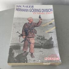 VINTAGE#DRAGON SIGNALER HERMANN GOERING DIVISION 1:16 Scale#NIB