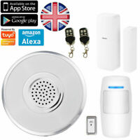 Wireless WiFi Smart Home House Office Security Burglar Alarm System Doorbell Kit
