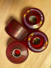 NOS Kryptonics Route 70 skateboard wheels - similar to Road Rider - 70mm in size