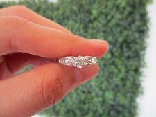 .74 Carat Diamond White Gold Engagement Ring 18k ER175 sep *