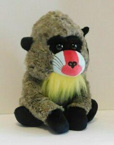 Baboon Plush Stuffed Jungle Animal Gorilla 10 inches Sitting