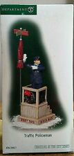 New ListingDept 56~Christmas in the City Series~Traffic Policeman~#59421~Mib