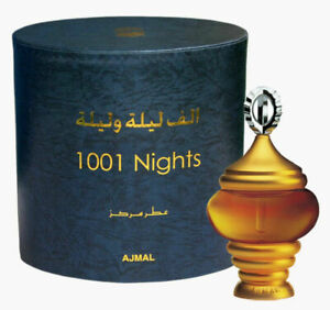 1001 NIGHTS 3ml Bottle By AJMAL High Quality Perfume Oil Attar - Amazing Scent!