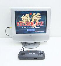Mega Jet Genesis Mega Drive Sega Game Console Gray HMJ-0300 Working