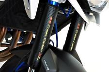 Kohlefaser Faser Optik USD Gabelprotektoren Passend Für Kawasaki