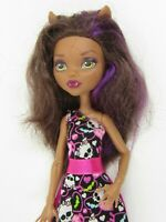 MONSTER HIGH CLAWDEEN WOLF DOLL MATTEL