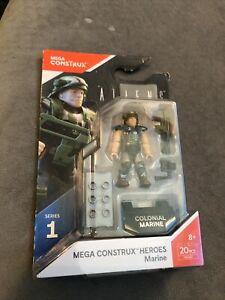 Mega Construx Bloks Aliens Heroes Series 1 Colonial Marine FND67