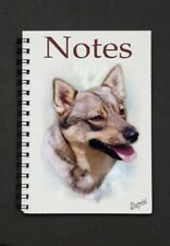 Swedish Vallhund Notebook/Notepad -  small image on every page by Starprint