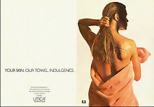 1982 vintage Ad, Cannon Bath Towels, nice model -121813
