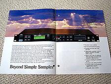 Yamaha TG-55 synthesizer tone generator brochure