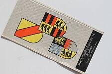 6178 SHELL Straßenkarte 16 Franken mit Wappen Baden Württemberg Bayern 1935