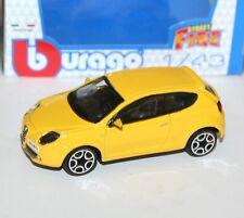 Burago - ALFA ROMEO MITO (Yellow) - 'Street Fire' Model Scale 1:43)