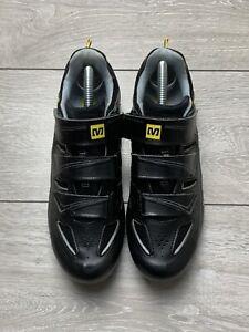 MAVIC TOURMALINE Women's Road Cycling Shoes | UK 7.5 | EUR 41 1/3 | Black