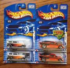 HOT WHEELS Lot of 4 FIRST EDITIONS Nomadder What Midnight Otto Wheel Variations