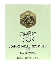 Jean Charles Brosseau Ombre D'Or Eau de Parfum Spray 1.7Oz/50ml New In Box