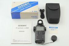 [Mint IN Karton] Sekonic L-508 Zoom Master Digital Licht Beleuchtung Meter Aus