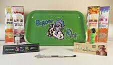 *New* R & M Bender Rick Metal Rolling Tray Bundle *Free US Shipping*