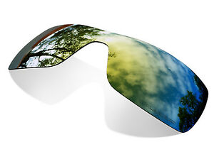 Fit&See Polarized Gold 24k Replacement Lenses for Oakley Batwolf