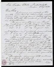 GBAB 39 GB QV 1870 letter to Norway Frederikshald Halden revenue stamp