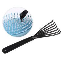 1PC Black Hair Brush Kammreiniger Reinigungsentferner Embedded Hair Cleaning T