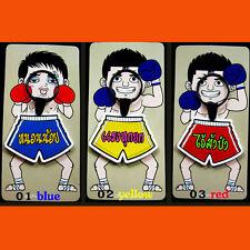 Set 3 Colors Thai Boxing Shorts Blue Yellow Red Key Chains Muay Thai Kick boxing