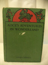 Alice's Adventures in Wonderland by Lewis Carroll HC
