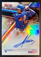 2018 Bowman's Best ANDRES GIMENEZ Autograph Rookie REFRACTOR #B18-AG NY METS