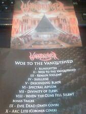 WARBRINGER CD - Woe to the Vanquished +2 BONUS  2017  U.S. THRASH METAL