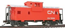 HO Scale Wide-Vision Caboose - Walthers Canadian National Ready to Run