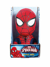 "MARVEL SPIDERMAN TALKING MEDIUM PLUSH 9"" BRAND NEW IN BOX UK SELLER"