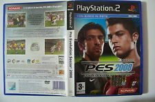 PES 2008 Pro Evolution Soccer PS2 playstation 2 con manuale