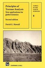 Topics in the Earth Sciences Ser.: Principles of Terrane Analysis : New.