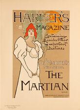 Les Maitres de l'Affiche pl.120 Harper's Magazine by Fred Hyland Original Poster