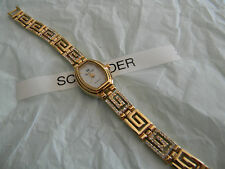 Premier Designs OLYMPIA gold crystal watch gorgeous RV $79 FREE ship