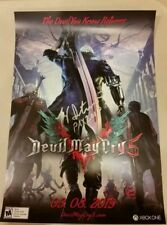Pax West 2018 Signed DMC5 Devil May Cry 5 poster