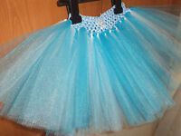 Disney's Frozen Elsa Inspired Tutu Princess Party Tutu Skirt Dress Up Costume
