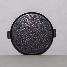 Used 52mm Lens Front Cap Plastic Black snap on type - worldwide