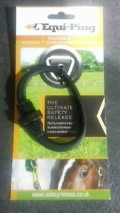 EquiPing Quick Release Tether, Safety Tether, Reusable, Equi-Ping Safety Tie
