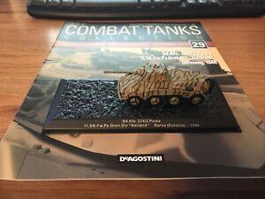Combat Tank Collection Sd.Kfz. 234/2 Puma wit magazine issue 29