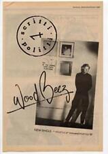 Scritti Politti Wood Beez Pray Like Aretha Franklin Advert NME Cutting 1984