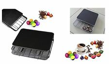 30,36,42 Coffee Pod Capsule Metal Draw Holder Nespresso,caffitaly,Dolce gusto Ne